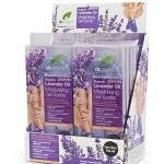 Lavender Moisture Socks side